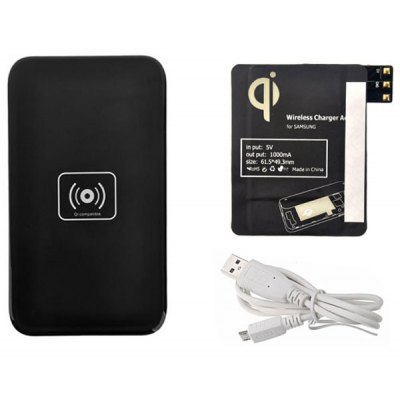 Wireless Charger with Receiver for Note 3 N9000 / N9008