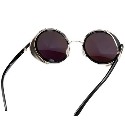 Гаджет   Cool Round Design Sunglasses with PC Lens and Comfortable High-nickel Alloy Frame Stylish Sunglasses
