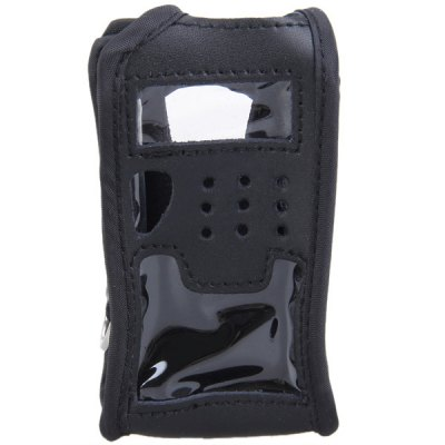 ФОТО Compact Durable Soft Artificial Leather Full Protection Cover Case for Baofeng UV-5R Series Two Way Radio Walkie Talkie