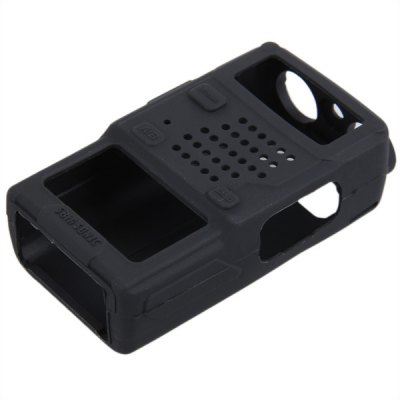 Compact Durable Soft Silicone Full Protection Cover Case for Baofeng UV-5R Series Two Way Radio Walkie Talkie