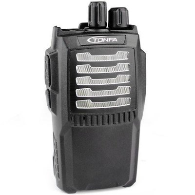 TF-259 Professional UHF FM Transceiver Walkie Talkie 9W 400-470MHz 16CH Interphone Two-way RadioWalkie Talkies<br>TF-259 Professional UHF FM Transceiver Walkie Talkie 9W 400-470MHz 16CH Interphone Two-way Radio<br><br>Model  : TF-259<br>Type : Two way radio<br>Special Function : VOX function; Busy lockout function; Scanning function; Wire clone function; Monitor function; QT and DQT signalling; Low battery alarm; Power-saving function; Chinese and English voice prompt; PC sof<br>Power Supply: Built-in 7.4V 2500mAh li-ion battery<br>Frequency Range : 400MHz ~ 470MHz<br>Channel Spacing: 5KHz / 10KHz / 12.5KHz / 25KHz<br>Operating Temperature Range : -30 ~ +60°C<br>Memory Channels: 16<br>Frequency Stability : ±2.5ppm<br>Antenna Impedance : 50?<br>Output Power (high/low): 9W<br>Modulation (broadband/narrowband): 16K?F3E<br>Maximum Frequency Deviation (broadband/narrowband): &lt;5KHz / &lt;2.5KHZ<br>Pre-emphasis Characteristic: 6dB per fold frequency patch<br>Emission Current: ?1.3A<br>Modulation Sensitivity: &lt;0.16uV (12dB SINAD)<br>Receiveing Sensitivity (broadband/narrowband): 0.25?V / 0.28?V<br>Intermodulation (broadband/narrowband): &lt;10%<br>Adjacent Channel Selectivity (wide/narrow): ?70dB<br>Product Weight  : 0.22 kg (with battery and antenna)<br>Package Weight  : 0.64 kg<br>Product Size (L x W x H)  : 12.0 x 6.2 x 3.2 cm<br>Package Size (L x W x H) : 24.5 x 18.0 x 7.0 cm<br>Package Contents: 1 x UHF FM Radio, 1 x Antenna, 1 x Battery Charger/AC Adapter, 1 x Li-ion Battery Pack, 1 x Belt Clip, 2 x Screw, 1 x User Manual