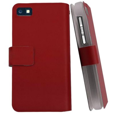 PU + PC Case with Card Holder for Blackberry Z10