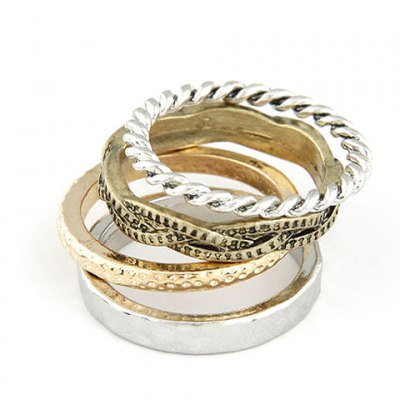 Twisted Round Rings