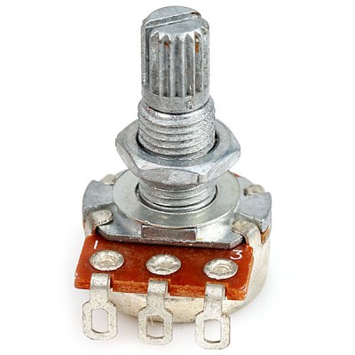 PT-10 A250K Professional Mini Pots Potentiometer for Electric Guitar with Shaft 18mm