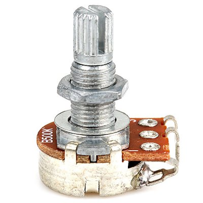 PT-09 B500K Professional Audio Mini Potentiometer for Electric Guitar with Shaft 18mm
