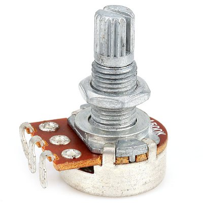 PT-08 A500K Audio Mini Pots Potentiometer for Electric Guitar with Shaft 18mm