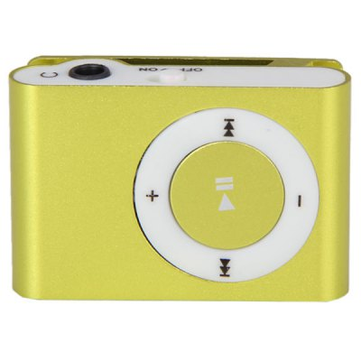 Compact MP3 Player 3.5mm Jack with 8GB Micro SD Card/Back Metal Clip/USB Interface