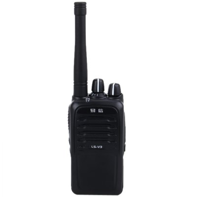 LS-V3 Commercial VHF/UHF FM Transceiver Interphone 16 Channels Two-way Radio Walkie Talkie