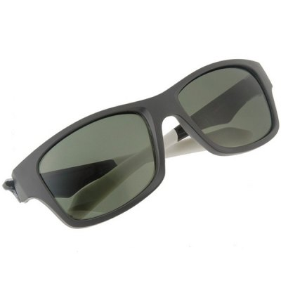 Polarized Lens Sunglasses with Comfortable TR90 Material FrameStylish Sunglasses<br>Polarized Lens Sunglasses with Comfortable TR90 Material Frame<br><br>Anti-UV level: 400<br>Earstems length: 13.6 cm<br>Frame Color: White,Gray<br>Frame material: TR90<br>Gender: Unisex<br>Glasses width: 13.4 cm<br>Lens Color: Dark Green<br>Lens height: 4 cm<br>Lens material: Polarized lens<br>Lens width: 5.6 cm<br>Nose bridge width: 1.6 cm<br>Package Contents: 1 x Sunglasses,1 x Case<br>Package size (L x W x H): 17.5 x 9 x 6 cm<br>Package weight: 0.120 kg<br>Product weight: 0.027 kg<br>Type: Sunglasses