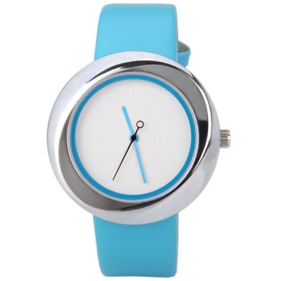 Гаджет   Cool Women Watch Analog with Round Dial Leather Watch Band Women