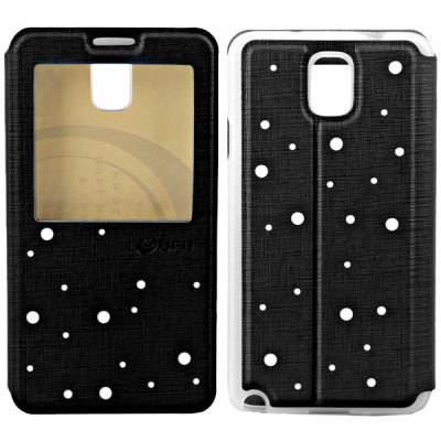 UFO Special Star Series Artificial Leather and TPU Case with Stand Function for Samsung Galaxy Note 3 N9000 / N9002 / N9006 / N9008