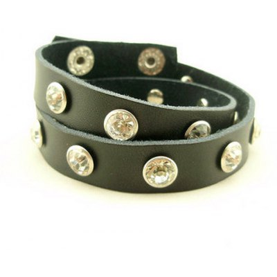 Simple Diamante Long Wrap Bracelet For Men and WomenMens Jewelry<br>Simple Diamante Long Wrap Bracelet For Men and Women<br><br>Item Type: Wrap Bracelet<br>Gender: Unisex<br>Chain Type: Leather Chain<br>Style: Trendy<br>Shape/Pattern: Others<br>Length: 41CM<br>Weight: 0.1KG<br>Package Contents: 1 x Bracelet