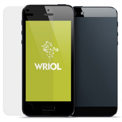 Wriol Q Series High Transmittance PET Screen Protector for iPhone 5 / 5S