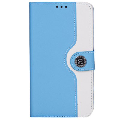 ФОТО Plastic and Artificial Leather Material Fastener Cover Case for Samsung Galaxy Note 3 N9000 / N9002 / N9006