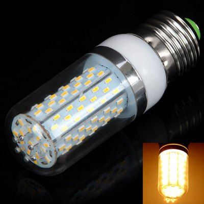 E27 12 - SMD 3014 LED 85 - 265V 12W 1200lm Warm White Corn Lamp