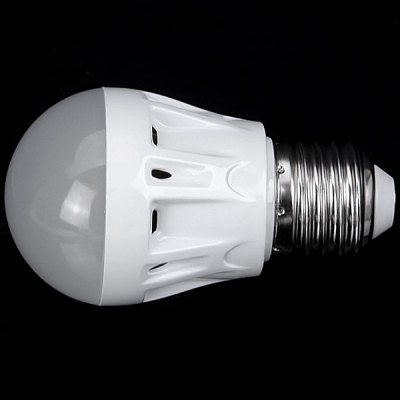 E27 3W AC220V White 6000 - 6500K Ball Bulb