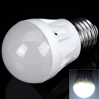 E27 3W White Light Bulb Lamp