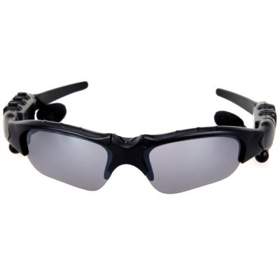 Cool Black Sunglasses 2GB MP3 Music Player with Telescoping Earphone