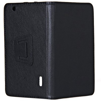 ФОТО Artificial Leather Material with Photo Frame Design Case for V8880 7 inch Tablet PC - Black