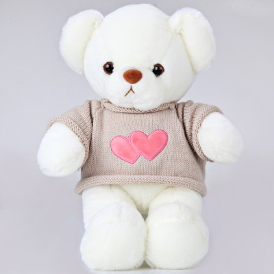Lovely Heart Sweater Bear 23CM Height Plush Stuffed Bear Beautiful Present for ChildrenCrafts<br>Lovely Heart Sweater Bear 23CM Height Plush Stuffed Bear Beautiful Present for Children<br><br>Material: Plush<br>Age: All Age<br>Feature Type: Chinese<br>Height: Approx. 23 cm<br>Product Weight   : 0.251 kg<br>Package Weight   : 0.402 kg<br>Package Size (L x W x H)  : 20 x 12 x 15 cm<br>Package Contents: 1 x Plush Bear