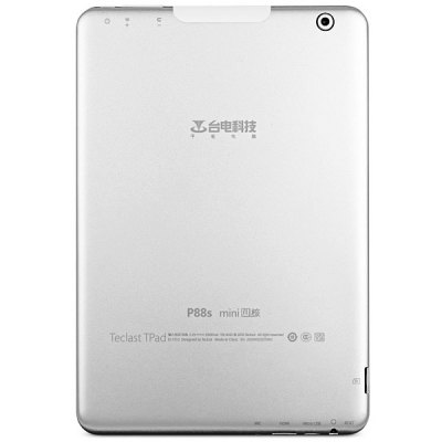 Teclast P88s mini Android 4.1 Tablet PC with 7.9 inch XGA IPS OGS Screen A31S Quad Core 1.0GHz Dual Cameras WiFi 16GB (Silver)