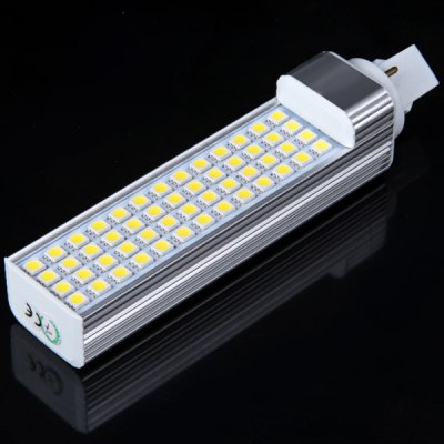 G24 52-LED 85-265V White Corn Light