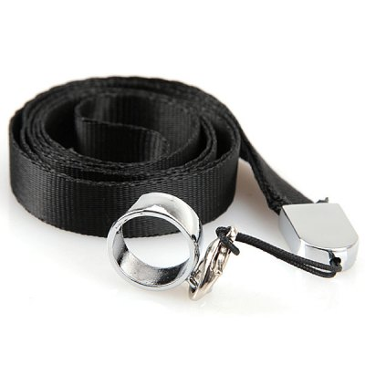 ФОТО Necklace Smooth E - Cigarette Lanyard/Hang Rope/Strap Sling with Steel Ring Clip for EGO Series Electronic Cigarette (2 pcs/set)