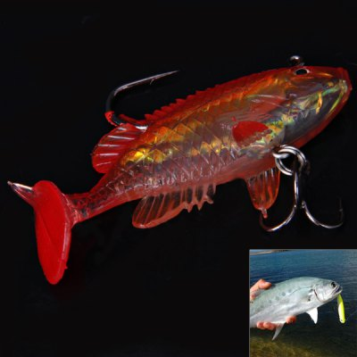 NWSF60 2PCS 60mm 8g Simulation Fishing Soft Lure BaitFishing Baits and Hooks<br>NWSF60 2PCS 60mm 8g Simulation Fishing Soft Lure Bait<br><br>Type: Soft Bait<br>Material: Soft plastic<br>Product weight: 8 g (1pcs)<br>Package weight: 0.08 kg<br>Product size (L x W x H): 6 x 2.5 x 1 cm<br>Package size (L x W x H): 12 x 5 x 2 cm<br>Package Contents: 2 x Soft Fishing Lure