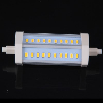 R7S 30 x 5630 SMD LED 85-265V Warm White Dimmable Corn LampLED Light Bulbs<br>R7S 30 x 5630 SMD LED 85-265V Warm White Dimmable Corn Lamp<br><br>Base Type: R7S<br>Type: Corn Bulbs<br>Emitter Type: SMD 5630 LED<br>Total Emitters: 30<br>Voltage (V): AC85-265<br>Features: Low Power Consumption, Long Life Expectancy, Dimmable, Energy Saving<br>Function: Home Lighting, Commercial Lighting, Studio and Exhibition Lighting<br>Available Light Color: Natural White, Warm White<br>Sheathing Material: Aluminum Alloy, Plastic<br>Product Weight: 0.086 kg<br>Package Weight: 0.16 kg<br>Product Size (L x W x H): 12 x 5.5 x 3.5 cm<br>Package Size (L x W x H): 13 x 6 x 4 cm<br>Package Contents: 1 x Corn Light