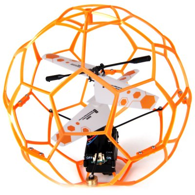 Cool 2CH Funny RC Remote Control Air Football Style Helicopter