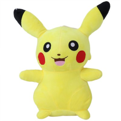 28cm Height Anime Opening Mouth Smiling Pokemon Pikachu Plush Doll Plush ToysStuffed Cartoon Toys<br>28cm Height Anime Opening Mouth Smiling Pokemon Pikachu Plush Doll Plush Toys<br><br>Material: Plush<br>Age: All Age<br>Feature Type: Janpanese<br>Height: Approx. 28cm<br>Product weight: 0.291 kg<br>Package weight: 0.369 kg<br>Product size (L x W x H): 29.00 x 25.50 x 13.00 cm / 11.42 x 10.04 x 5.12 inches<br>Package size (L x W x H): 38.00 x 23.00 x 20.00 cm / 14.96 x 9.06 x 7.87 inches<br>Package Contents: 1 x Plush Toy
