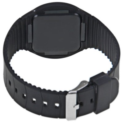 Rubber Band Touch-screen Red LED Sport Watches