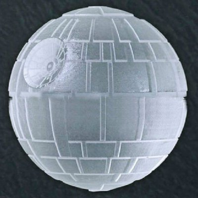 Death Star Silicone Ice Cube Trays Ice Ball