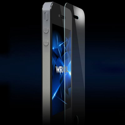 Гаджет   Wriol Glass Panel 9H Hardness 0.3mm Screen Protector Film for iPhone 4 / 4S iPhone Cases/Covers