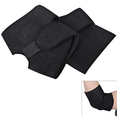 2PCS Neoprene Velcro Elbow Sleeve/Guard/Support with Self - heating Function