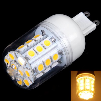 G9 3W 30-LED Dimmable Corn Lamp