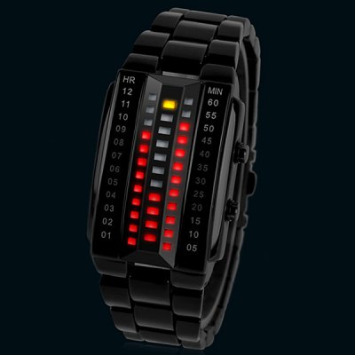 Skmei 1013 LED Sports Watch with Japan Movts Waterproof Design and Zinc Alloy Watch Band