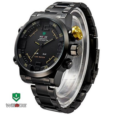 WEIDE WH2309B Male Military Sports Quartz Watch
