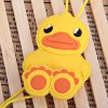Stylish Anime Stereo Earphone with Cartoon Yellow Duck Feature Wire Bobbin Winder Clamp deal