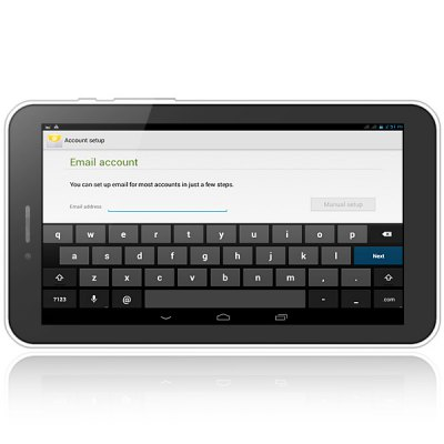 Фотография 7 inch GDIPPO P708 Android 4.2 WCDMA Phablet MTK8312 Cortex A7 Dual Core 1.3GHz WSVGA Screen Bluetooth