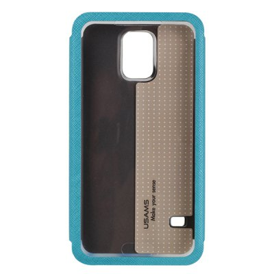 ФОТО USAMS Touch Series PU + PC Window Case for Samsung Galaxy S5 i9600 SM - G900
