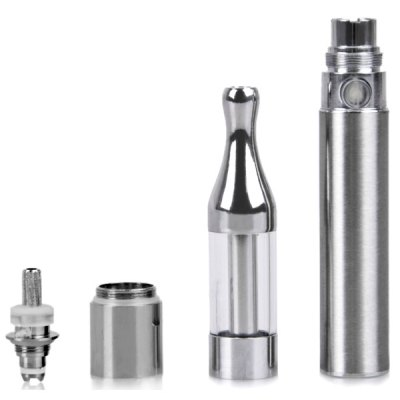 Фотография Mini Protank 650mAh E - Cigarette Starter Kit 1.5ml Dripping Atomizer with USB Cable/ Needle Bottle/ EVA Case
