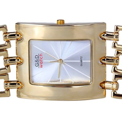 Quartz Watch for Men with Arch Dial Analog Indicate and Three Steel Chain WatchbandWatches &amp; Jewelry<br>Quartz Watch for Men with Arch Dial Analog Indicate and Three Steel Chain Watchband<br><br>Watches categories: Male table<br>Style elements: Big dial<br>Movement type: Quartz watch<br>Shape of the dial: Arch<br>Display type: Pointer<br>Case material: Stainless steel<br>Band material: Steel<br>Clasp type: Buckle<br>The dial thickness: 0.9 cm<br>The dial diameter: 3.9 cm<br>Product weight: 0.16 kg<br>Package weight: 0.21 kg<br>Product size (L x W x H): 22.2 x 3.9 x 0.9 cm<br>Package size (L x W x H): 23.2 x 4.9 x 1.9 cm<br>Package Contents: 1 x Watch