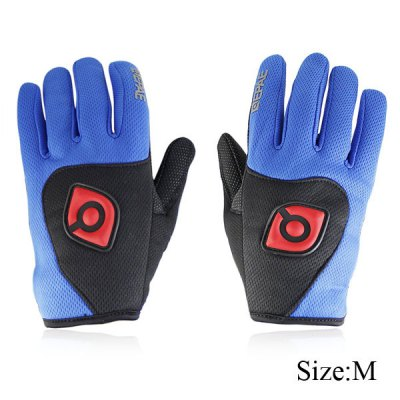 Bicycle Bike Silicone Full Finger Gloves Cycling Gloves