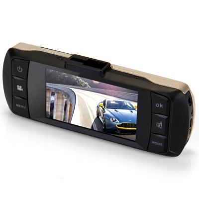 PH - 007 2.7 inch 1080P HD TFT Night Vision Car DVR 135 Degree Wide Angle Lens Camcorder Amkov