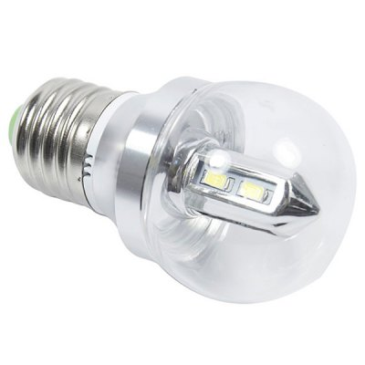 E27 300lm 4W 8 - SMD 5630 LED AC85 - 265V 6000K White LED Ball Bulb