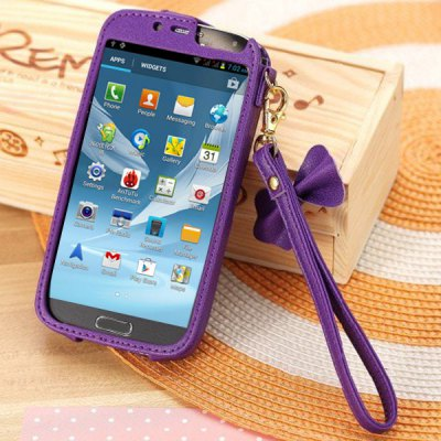 Гаджет   Princess Style PU Leather Protective Case Cover for Samsung Galaxy S4 i9500 / i9505 Samsung Cases/Covers