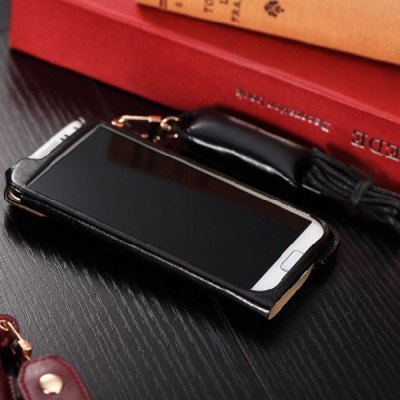 Гаджет   Business Style PU Leather Protective Case Cover for Samsung Galaxy S4 i9500 / i9505 Samsung Cases/Covers