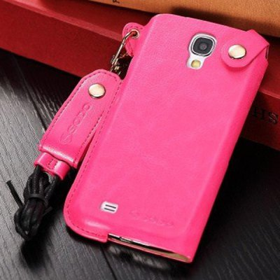 Business Style PU Leather Protective Case Cover for Samsung Galaxy S4 i9500 / i9505