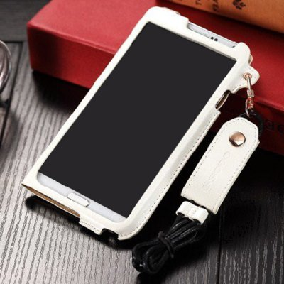 Business Style PU Leather Protective Case Cover for Samsung Galaxy Note 3 N9000